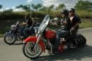 Le fils du «Che» vend des circuits à moto pour touristes
