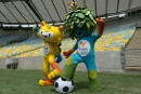 Les mascottes des Jeux de Rio porteront les noms de Vinicius et Tom