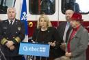 <strong></strong>Québec débloque 19,5 millions $ pour la formation des pompiers volontaires ou à temps partiel