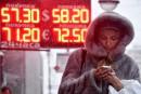 Krach historique du rouble, les yeux se tournent vers Poutine