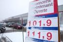 Essence: à près de 1 $ le litre à Québec