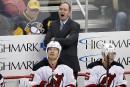 Les Devils congédient leur entraîneur Peter DeBoer