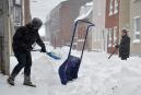 La première tempête de neige de l'année a laissé un... | 4 janvier 2015