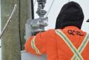 Pannes: une dizaine de clients d'Hydro-Québec privés de courant