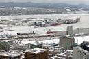 Port de Québec: le bilan sur la qualité de l'air reporté