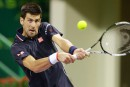 NovakDjokovic atteint facilement les quarts au Qatar