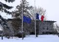 Une minute de silence à l'ambassade de France