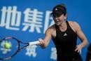 Simona Halep et Timea Bacsinszkyen finale à Shenzhen