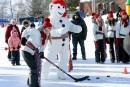 Activités précarnavalesques: la duchesse des Rivières brise la glace
