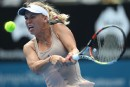 Caroline Wozniacki se blesse à un poignet