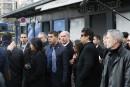 Le premier ministre israélien se recueille devantle supermarché casher