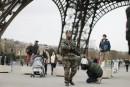 Des milliers de militaires déployés en France
