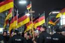 25000 Allemands manifestent «contre l'islam», un record