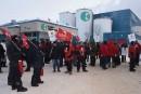 Grève de 24 heures à la Wayagamack: non à un «gel» salarial de 9 ans