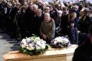 Charlie Hebdo: obsèques de Charb et de 2 autres victimes