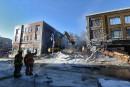 Incendie au centre-ville : le bâtiment démoli