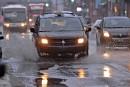 De la pluie au lieu de la neige sur Québec