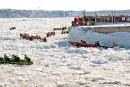 Circuit de canot à glace: Rimouski saute dans l'aventure