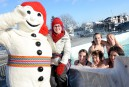 Activités précarnavalesques: bain nordique géant à Charlesbourg