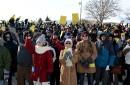 Près de 2000citoyens de Saint-Augustin-de-Desmaures se sont mobilisés le 25... | 26 janvier 2015