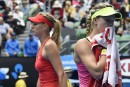 Internationaux d'Australie: Eugenie Bouchard s'incline face à Maria Sharapova