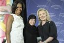 La grande soeur du blogueur Badawi
