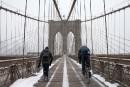 Moins de neige que prévu à New York