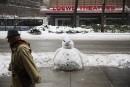 New York: tout ça pour 15 cm de neige
