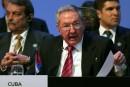 Raul Castro exige la fin de l'embargo américain