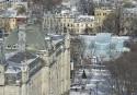 Une vue inusitée du palais du Bonhomme Carnaval, soit celle... | 29 janvier 2015
