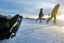 Jeux mondiaux d'hiver des maîtres: action!