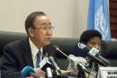 Ban Ki-moon en faveur d'une force africaine contre Boko Haram