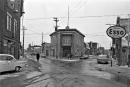 Carrefour des rues Hermine et de l'Aqueduc en 1963