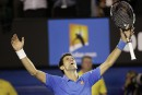Novak Djokovic, roi incontesté de Melbourne