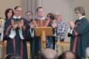 Une église pleine à craquer pour saluer Steve Lemay