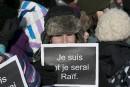 «Rassemblement éclair»en soutien au blogueur Raif Badawi