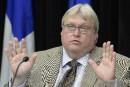 «Les craintes d'effondrement sont nettement exagérées», dit Barrette