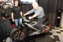 Une moto électrique en vedette au Salon de la moto