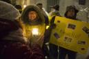 Vigile à la chandelle pour la libération de Raïf Badawi