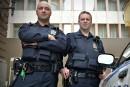 Deux policiers honorés de Québec devant le Comité de déontologie