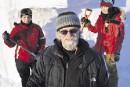 Sculpture sur neige:un artiste abitibien en réaction contre l'austérité