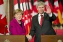 Merkel obtient l'appui des États-Unis et du Canada