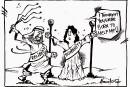 Un caricaturiste au secours de Badawi