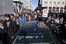 Austérité: la manifestation à la Tour de la Bourse a pris fin