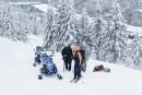 Murdochville: le salut par le ski