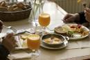 Repas d'affaires: pour un petit-déjeuner court et efficace