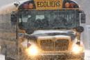 Facultés affaiblies au volant d'un bus scolaire: le chauffeur dit avoir bu seulement après la crevaison