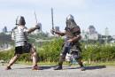 Combats médiévaux:tournoi hivernalce week-end à Montréal