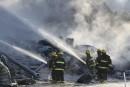 Incendie de la Meunerie Côté-Paquette: une arrestation