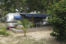 «Glamping» rétro en Martinique